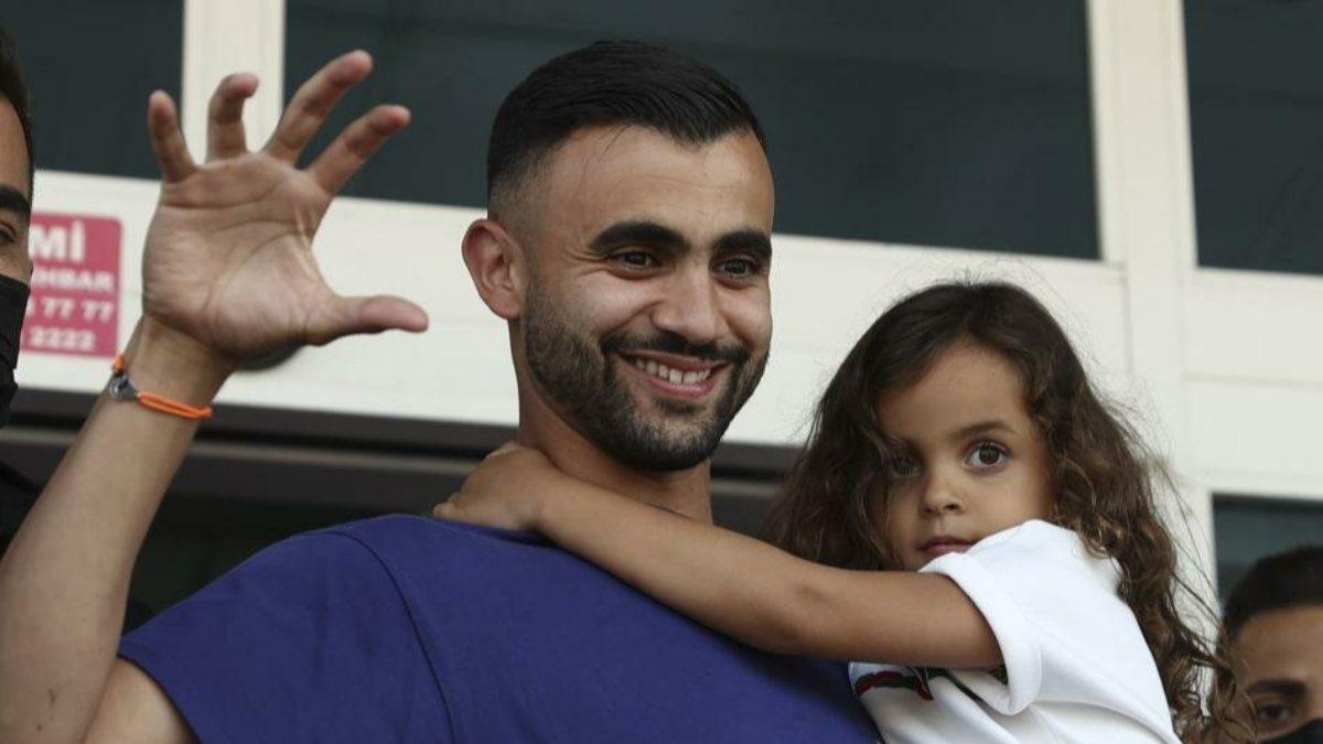 Rachid Ghezzal: Beşiktaş'a döndüğüm için çok mutluyum